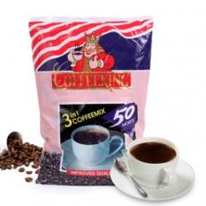 HAMU 国王 三合一速溶咖啡 缅甸 进口食品冲饮 600g