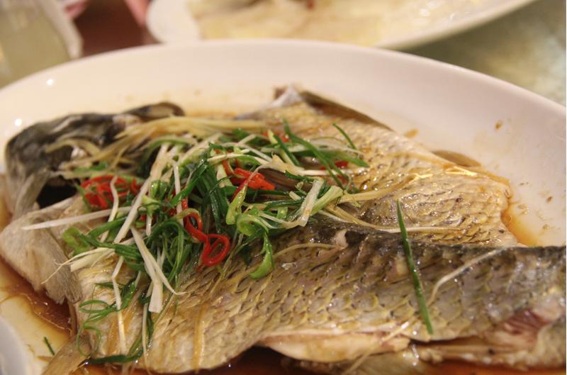 清蒸山塘皖鱼图片