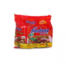 印尼 sedaap 喜达牌 方便面 香辣干拌面 88克*5包 五连包