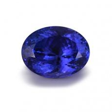 蒂欧妮彩色宝石 坦桑尼亚5A级13.29克拉坦桑石裸石戒面