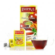 英伯伦(impra)西番莲果味 红茶2g*30袋