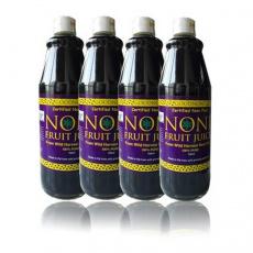 合百诺丽noni斐济进口玻璃瓶诺丽酵素原液 诺丽果汁750ml4瓶装
