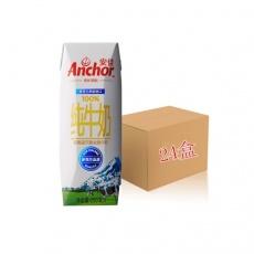 新西兰进口牛奶安佳(Anchor) 超高温灭菌全脂牛奶250ml*24