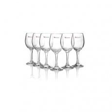 帕莎(Pasabahce)无铅玻璃马尔代夫红酒杯 6只装310ml 葡萄酒杯干白酒杯