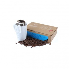 坦桑尼亚乞力马扎罗咖啡豆现磨咖啡粉滤泡烘焙挂耳包