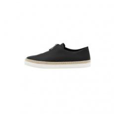 CHARLES&KEITH低帮鞋CK1-70930037 圆头中性风休闲鞋女鞋黑色 39