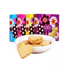 全家至爱进口新加坡休闲零食手工黄油曲奇饼干3盒装255g