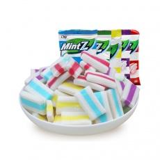 印尼零食MintZ薄荷糖软糖115g*3包 薄荷绿的清凉糖水果糖进口食品