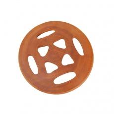 越南进口原木餐桌垫碗盘垫实木锅垫杯垫 防滑隔热垫