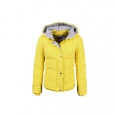 真维斯羽绒服女短款 冬装女士连帽修身加厚保暖长袖女装羽绒外套