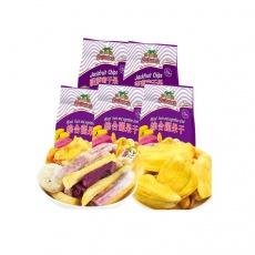 越南进口沙巴哇菠萝蜜果干100g*2综合蔬果干100g*3
