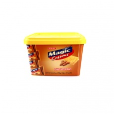 菲律宾进口 珍珍麦吉花生黄油夹心饼干700g