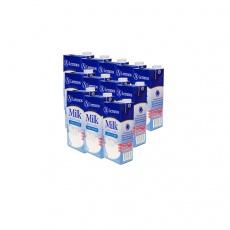 澳大利亚原装进口牛奶兰诺斯全脂纯牛奶1L*12/箱